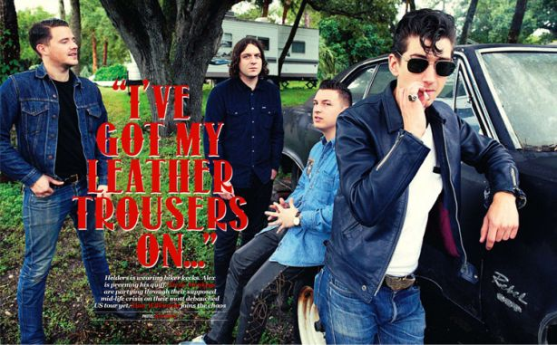 Protected: Arctic Monkeys Stop By The Chateau