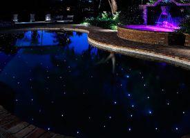 Night Time Pool Photo